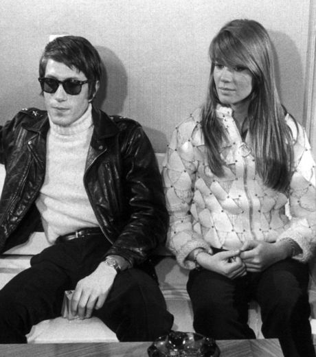 Jacques Dutronc and Francoise Hardy