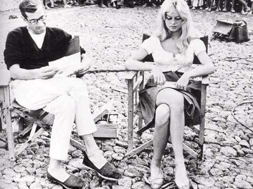 Roger Vadim and Bridget Bardot