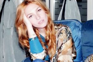 "Behold the best strawberry blonde hair on ""it girl"" Josephine de la Baume."